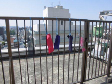 日光堅牢度調査 2013年5月25日より【実験】:平岡旗製造株式会社